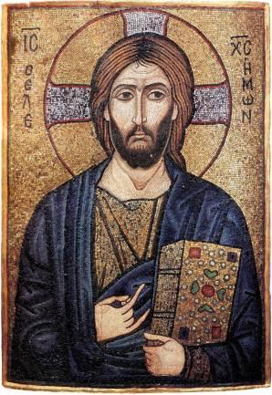 The saviour 12th century Panthocrator